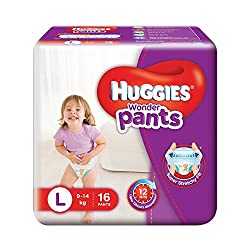 Huggies Wonder Pants Large Diapers (16 Count)
