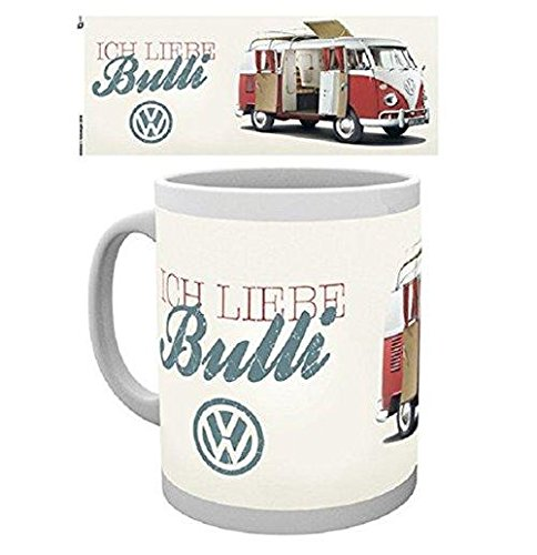 VW Camper (Ich Liebe Bulli) 10 Unzen Tasse (MG0044) - GB Eye