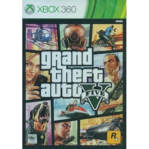 Grand Theft Auto V - FIVE GTA 5 [Multi-idioma] [Sin región] [Xbox 360] [Producto Importado]