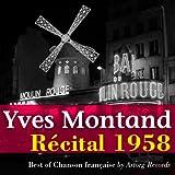 Yves Montand (Récital 1958 au théâtre de l'étoile)