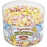 Fun Gommes champignons bain rétro Bonbons pour enfants - 600 du