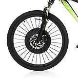 Lixada 700x23c Vorderrad Elektro Fahrrad Disc/V Bremsnabe Motor Kit 36 V 240 Watt Leistungsstarke Motor E-Bike Umrüstung mit Batterie