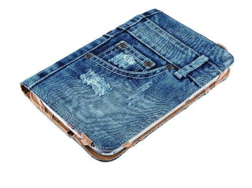 Produktbild Trust Universal Jeans Folio Stand 17, 8 cm (7 Zoll) bis 20, 3 cm (8 Zoll) für Tablet blau