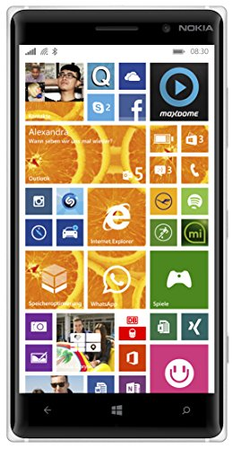 Nokia Lumia 830 Smartphone (5 Zoll (12,7 cm) Touch-Display, 16 GB Speicher,...