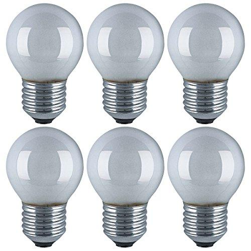 Osram - Bombillas LED (casquillo E27, 4W, 220-240V, 40W, mate, b