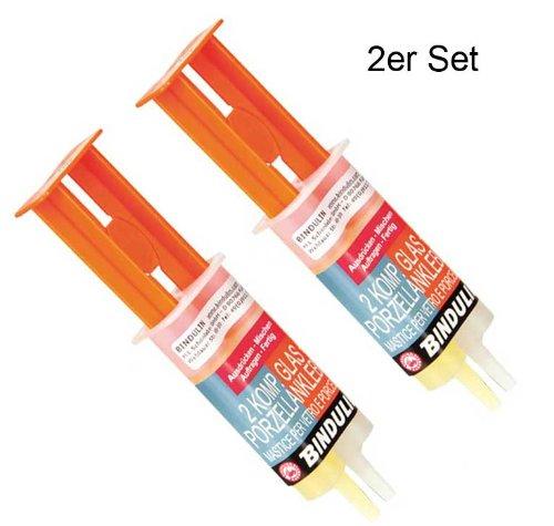 Glas- und Porzellankleber BINDULIN GP 28, 28 g, Säure-, laugenöl-, kältebeständig und spülmaschinenfest.