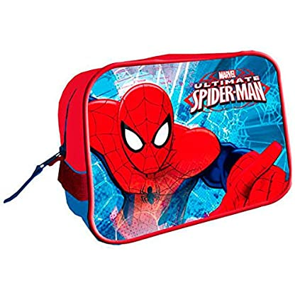 Neceser Spiderman Marvel Spider Jump cuadrado