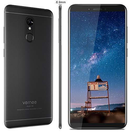 Vernee M6 Smartphone 4G de Pantalla Grande 5.7 Pulgadas, Cámara Dual 16MP+13MP, (4GB RAM 64GB Memoria Interna) Android...