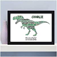 Will you be our Page Boy, Usher, Best Man Gifts Dinosaur Gifts for Page Boys, Usher - Will You Be Presents for Wedding Party Favours - A5, A4, A3 Prints and Frames - 18mm Wooden Blocks