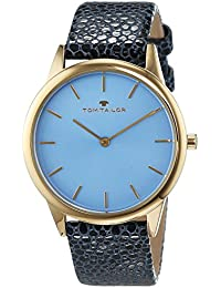 TOM Tailor de relojes mujer-reloj analógico de cuarzo cuero 5414704