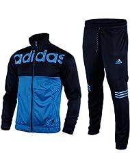 adidas TS BTS - Chándal para hombre, color azul marino / azul, talla 180