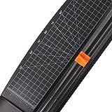 JLS cortador de papel 12 pulgadas A4 Trimmer Negro con multi-función, protección de seguridad automática al cortar (909-4)
