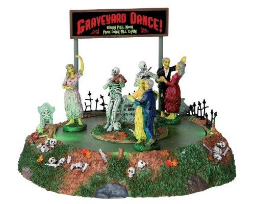 Lemax - Graveyard Dance - Tanz auf dem Friedhof - Animiertes Zubehör - Halloween Village - Spooky Town - Dorf