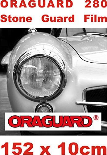 Lackschutzfolie hochtransparent 0,2mm - Oraguard 280 Stoneguard 15O X 10cm