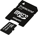 Transcend 16GB Class 10 Micro SDHC Memory Card - Frustration Free Packaging