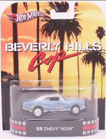 Chevy Nova 1968 - Beverly Hills Cop Hot Wheels 1:64 (1968 Nova)