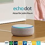Das neue Echo Dot (3. Gen.) Intelligenter Lautsprecher mit Alexa, Sandstein Stoff - 2