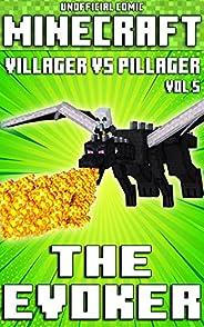 (Unofficial) Minecraft: Villager vs Pillager: The Evoker Comic - Vol 5 (Minecraft Comic Book 8) (English Editi