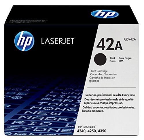Preisvergleich Produktbild HP 42A Schwarz Original LaserJet Tonerkartusche