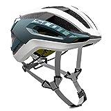 Scott Centric Plus Fahrrad Helm weiß/blau 2017: Größe: L (59-61cm)