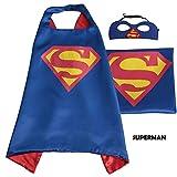 Superhero Cape avec masque gratuit pour enfants–Costume de fête