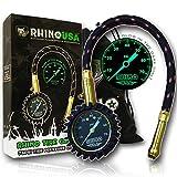 Rhino USA Heavy Duty Jauge de pression de pneu