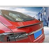 Boîte personnalisée arrière de voiture les ailerons en carbone pour Tesla Model S (1pcs)