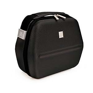 Panier Repas Lunchbag Eva Iris Barcelona+ deux Récipients de Contenance 60cl et 80cl + une Housse de Protection, Noir, 9820-TW