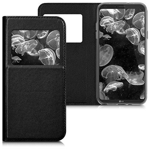 kwmobile LG Q6 / Q6+ Hülle - Handyhülle für LG Q6 / Q6+ - Handy Case Schutzhülle Klapphülle
