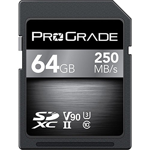 ProGrade 64GB SDXC Memory Card