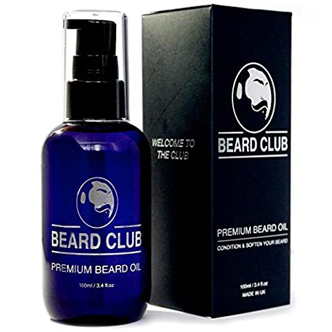 Premium Beard Oil – XL 100ml Bottle - Proven to Make Your Beard Kissably Soft – Voted Best Beard Oil For Men - Blended with 6 Luxurious Natural & Organic Oils &