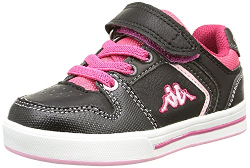 kappa-unisex-babies-reggia-baby-shoes-black-black-lt-pink-hot-pink-dk-grey-55-child