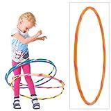 Coloré Enfants Hula Hoop pour Les Petits Professionnels, Ø60cm, Orange-Orange