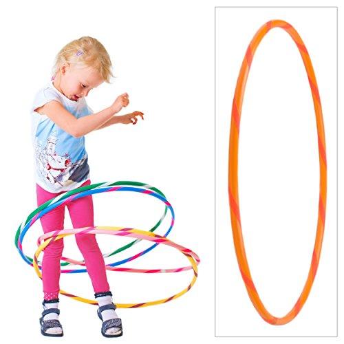 Hoopomania - Hula Hoop colorato per Piccoli Professionisti, Bambini, Bunter Hula Hoop für Kleine...