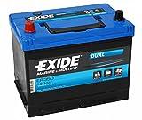 Exide ER350double Leisure batterie 80Ah (Porta Power Pp75)...