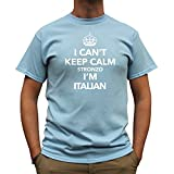 Telecharger Livres Nutees I Can t Keep Calm Stronzo I m Italian Italy Funny Hommes T Shirt Bleu Clair X Large (PDF,EPUB,MOBI) gratuits en Francaise