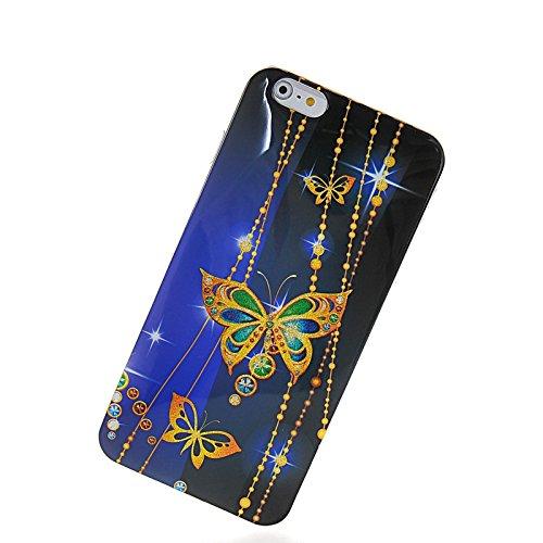 MOONCASE Modèle Mignon TPU Silicone Housse Coque Etui Gel Case Cover Pour Apple iPhone 6 Plus A16208
