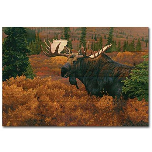 wgi Galerie wa-dam-128Denali Herbst Elch Art Wand