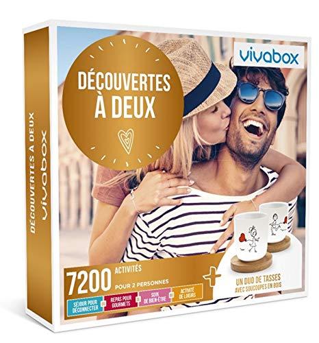 Vivabox - Coffret cadeau couple - DECOUVERTES A DEUX - 7200 activités de couple ......