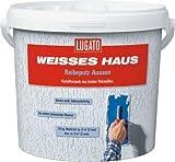 Lugato Weisses Haus Reibeputz Außen 3mm 20 kg