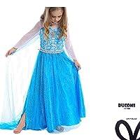 Costume principessa per bimbe. Immergiti nella magia del mondo di Frozen con i vestiti Anna ed Elsa. Per far sentire la vostra bambina come una vera principessa a casa, alle feste o al prossimo carnevale.