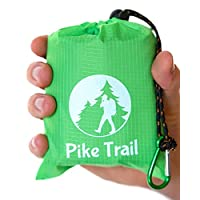 Pike Trail Pocket Blanket – Waterproof, Lightweight and Durable Tarpaulin for Outdoors – 152 x 142cm 16
