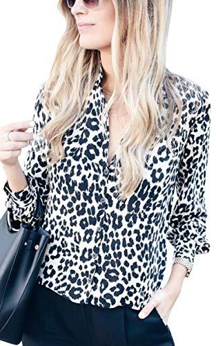 ECOWISH - Camisas - Botón_Abajo - Mujer 229blanco
