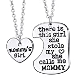Best Necklace  2 - Birthday Aisence 2 Pcs Family Love Mother Daughter Review