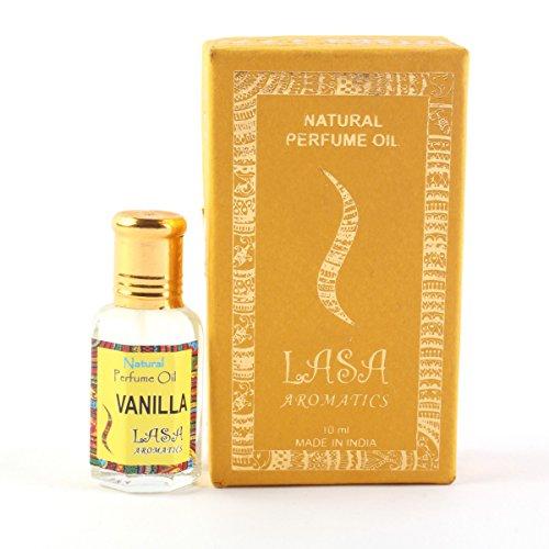Lasa Aromaten Natürlichen Parfümöl Vanille Duft 100% Rein Und Natürlich - 10 ml (Massage-öl Vanille Duft)