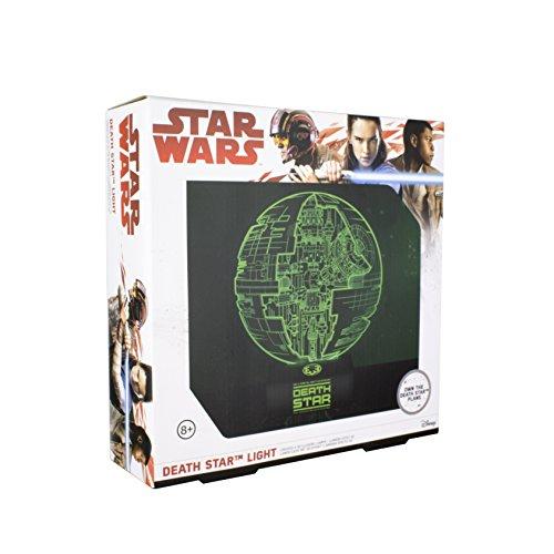 Lampe mit 3D Effekt - Star Wars: Rogue One - Todesstern