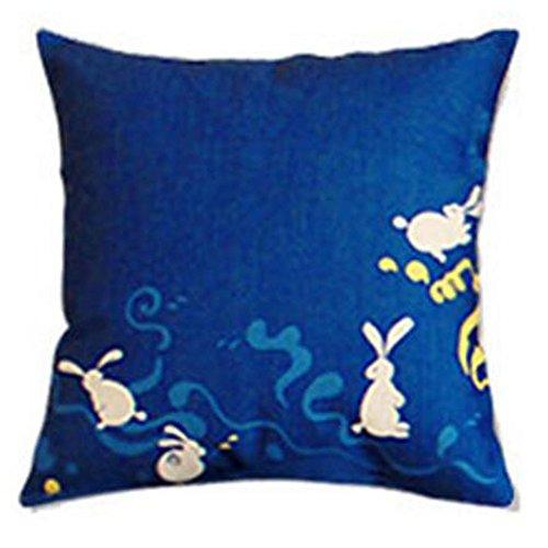Black Temptation Style Japonais Coussin d'oreiller Confortable pour la Maison/Sushi Restaurant 45x45cm -A21