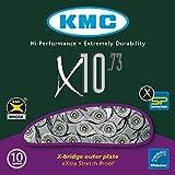 KMC Ketten X-10-73 114-Glieder, Silber, One Size