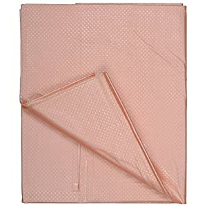 Tinny Tots PVC Baby Bed Protector Sheet, Double-Bed Size (Peach, BBS -2001-PEACH)
