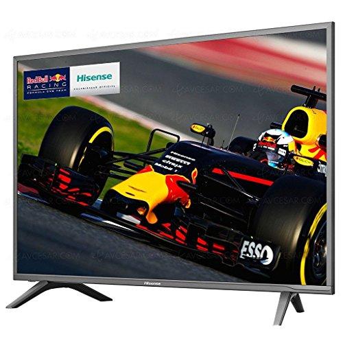 Hisense H49N5700 televisor 49' LED 4K Ultra HD Modelo 2017, Marco Gris Oscuro